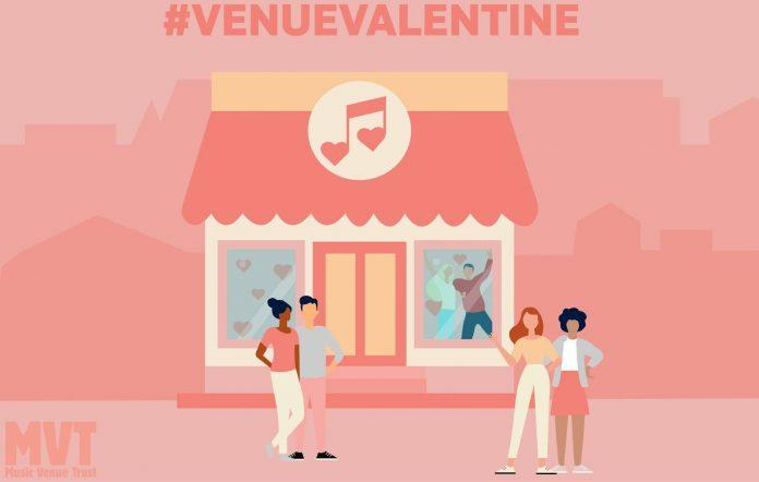 The Music Venue Trust launches the #VenueValentine campaign