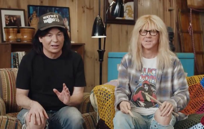 Wayne's World advert