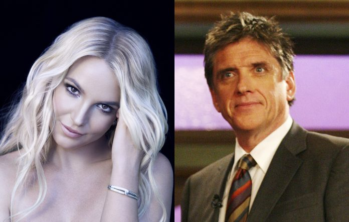 Britney Spears (Photo by Michelangelo Di Battista/Sony/RCA via Getty Images) and Craig Ferguson (Photo by Frederick M. Brown/Getty Images)
