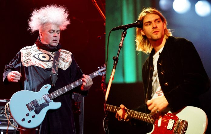 Melvins frontman Buzz Osborne / Kurt Cobain