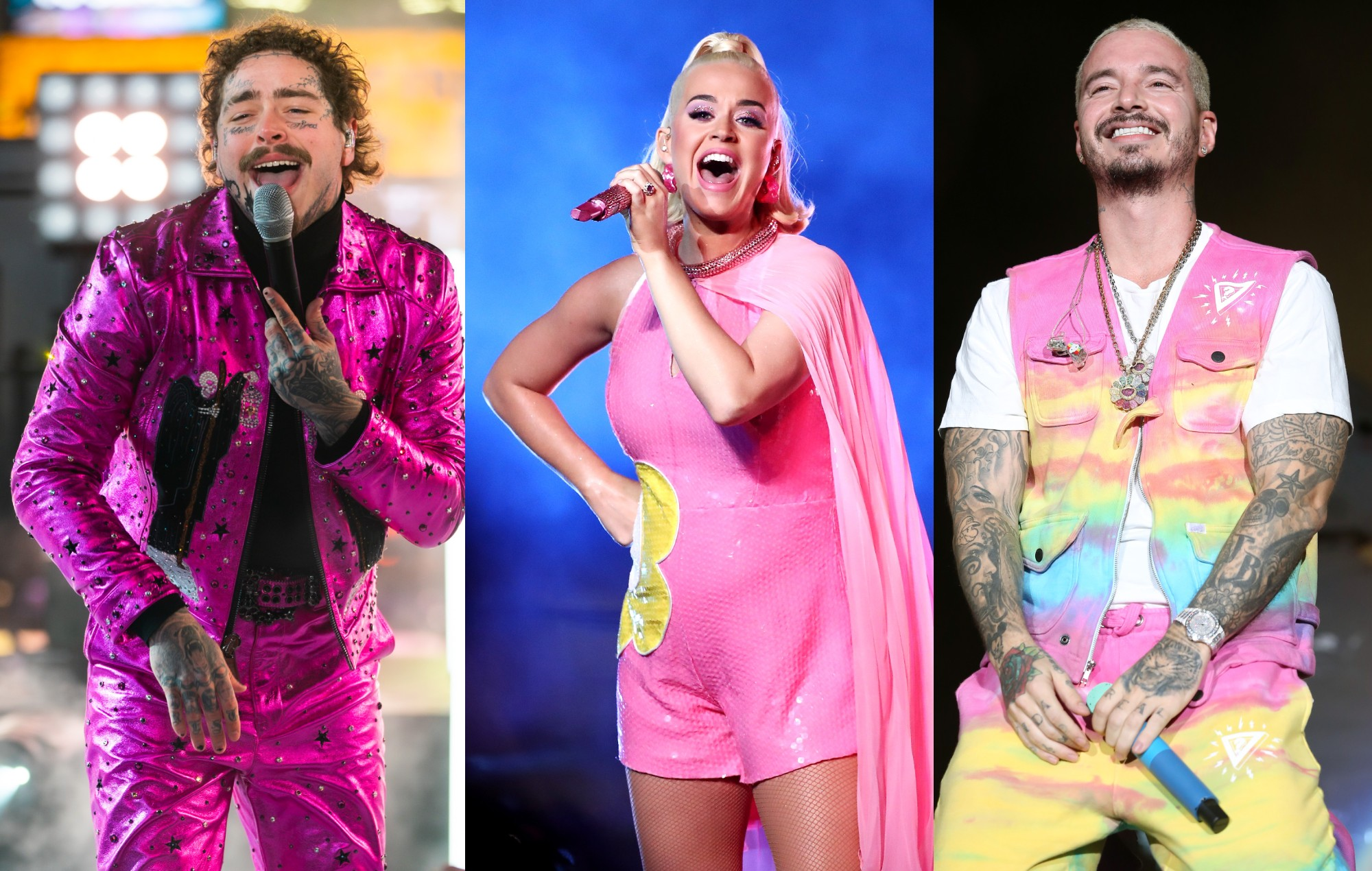 Post Malone, Katy Perry and J Balvin to feature on 'Pokémon' anniversary record