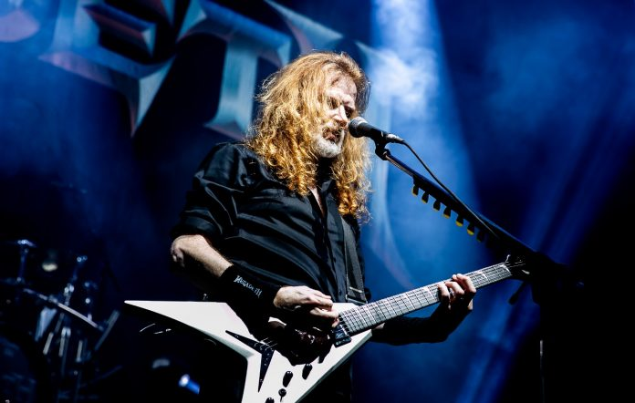 megadeth dave mustaine gibson new guitar