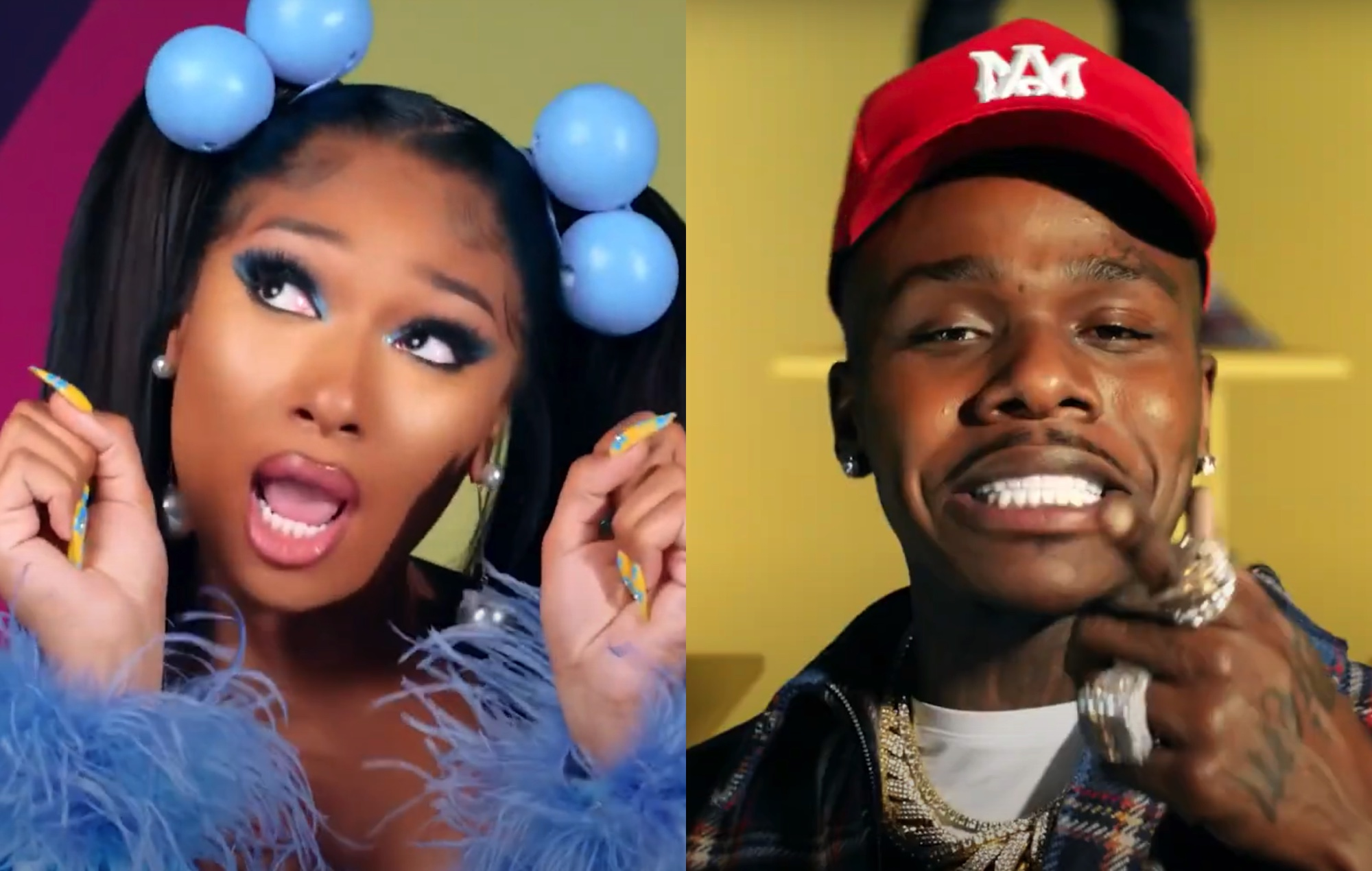 Megan Thee Stallion and DaBaby wreak havoc in a toy store for 'Crybaby' video