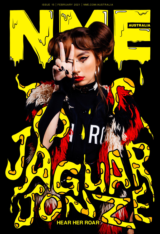 NME Australia Cover 2021 Jaguar Jonze