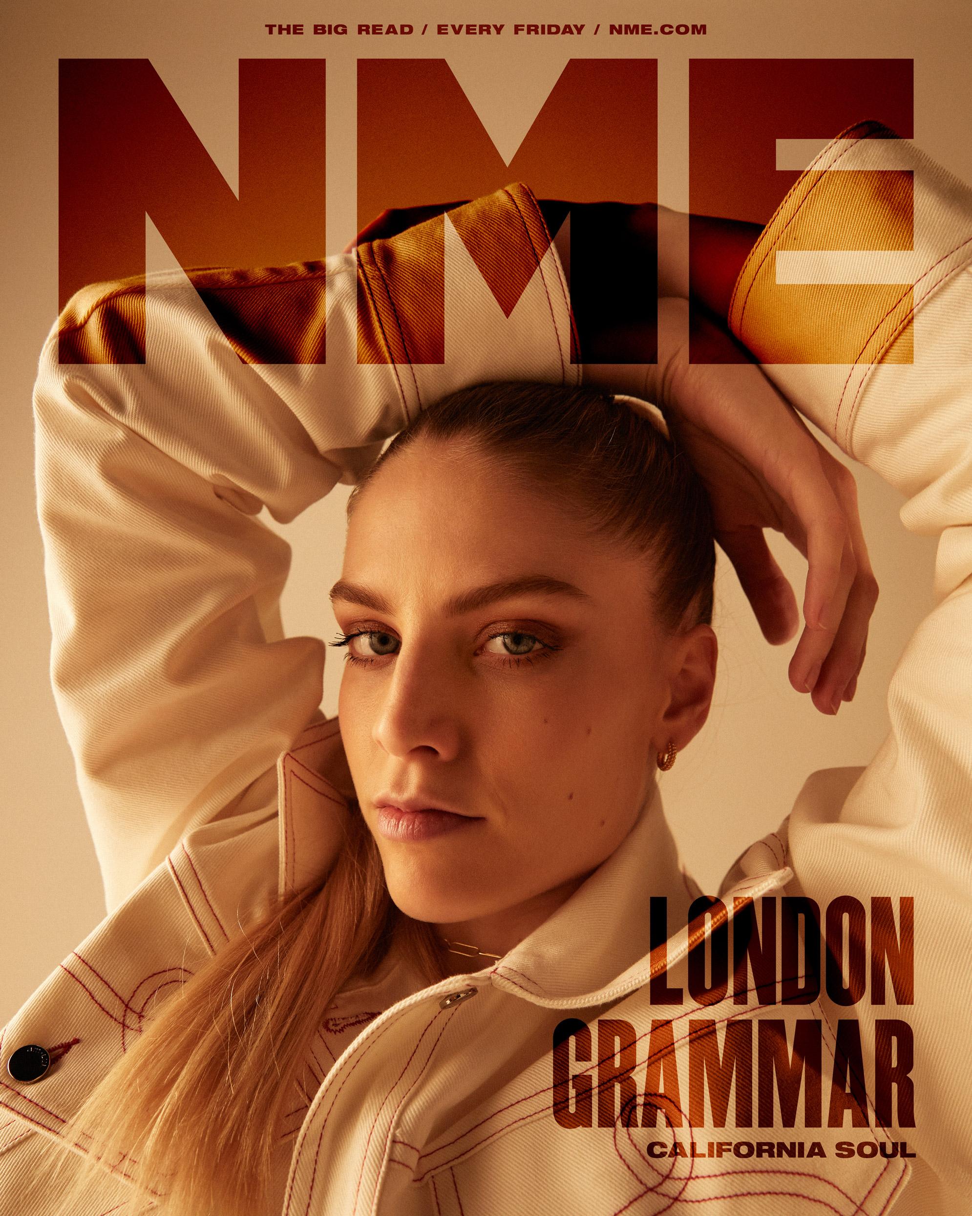NME Cover 2021 London Grammar