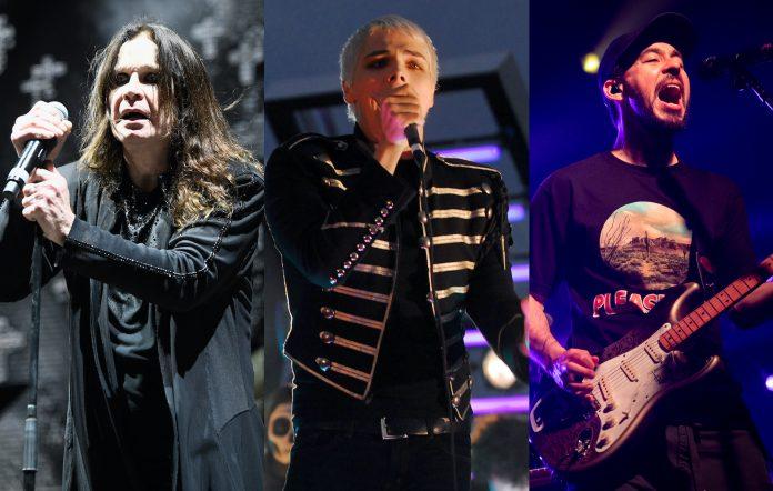 Ozzy Osbourne, Gerard Way, Mike Shinoda