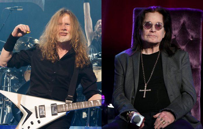 Megadeth, Dave Mustaine, Ozzy Osbourne