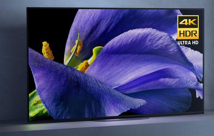 sony a9h smart tv