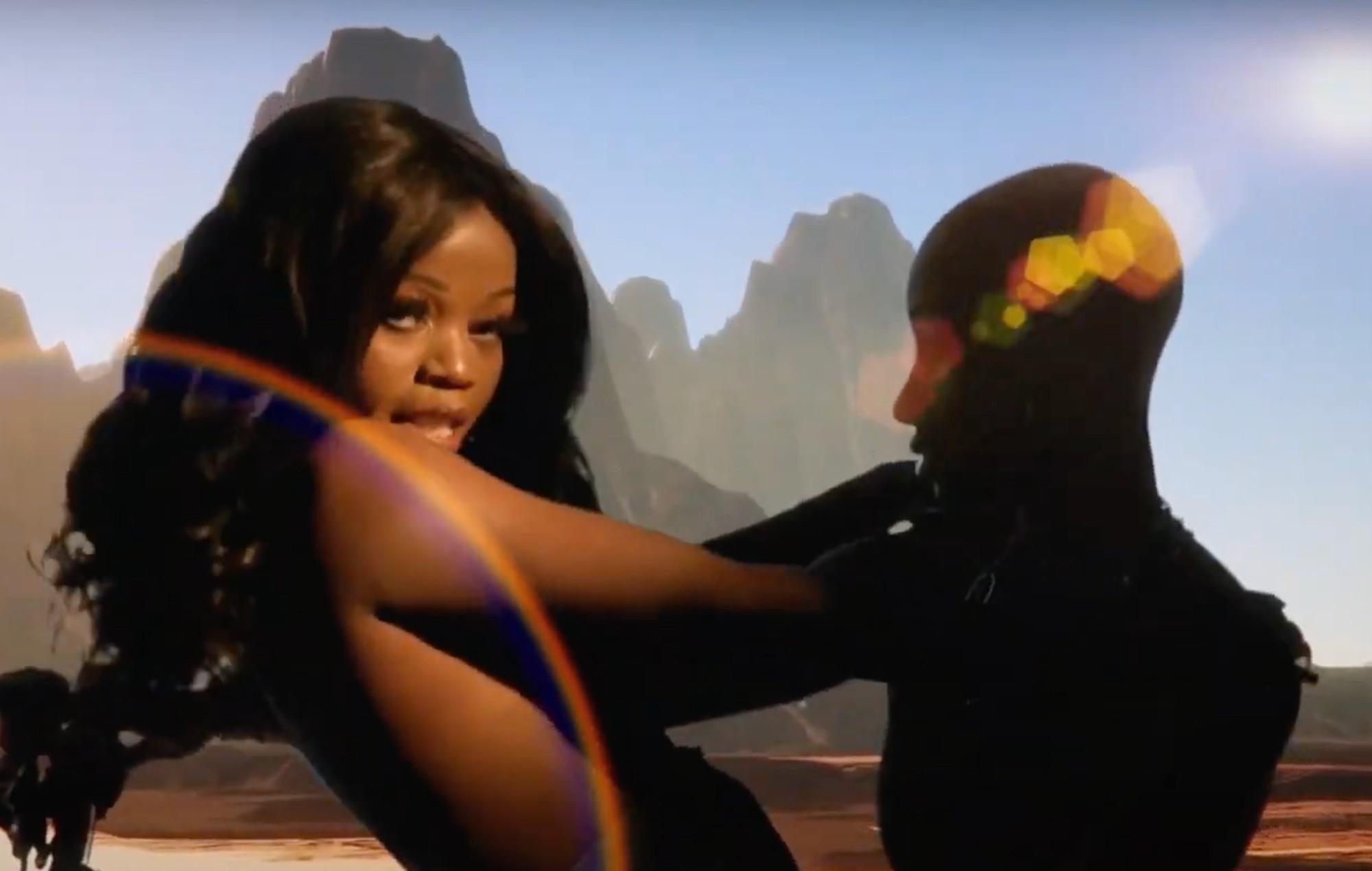 Tkay Maidza cosplays as Kim Possible and Kim Kardashian in 'Kim' video featuring Yung Baby Tate