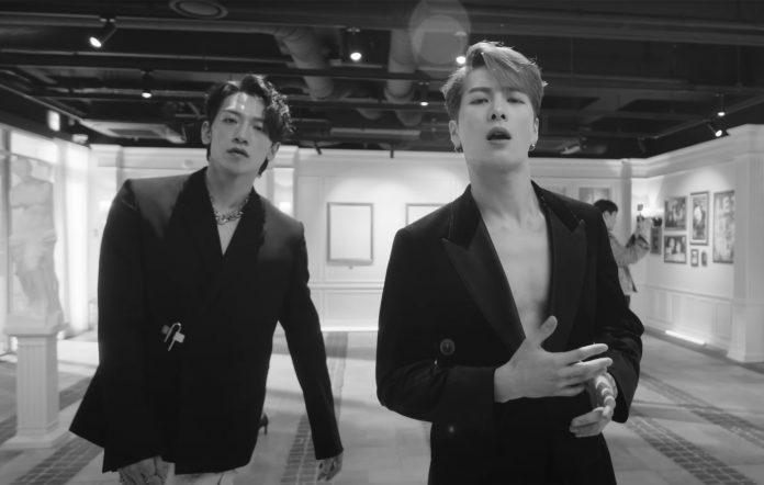 Jackson wang Rain magnetic music video