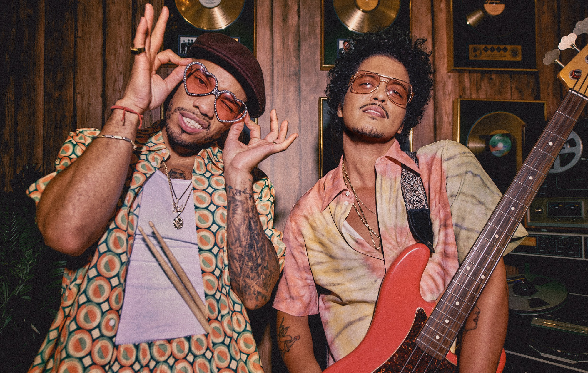 Bruno Mars and Anderson. Paak's Silk Sonic to perform at 2021 Grammys
