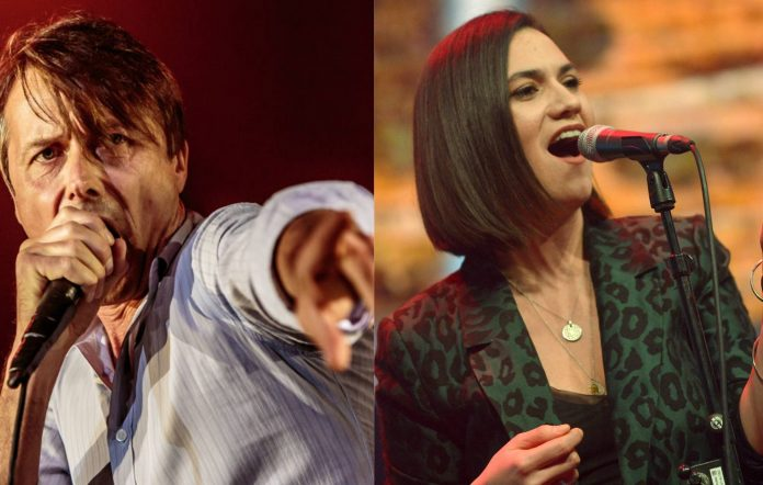 Suede's Brett Anderson and Nadine Shah