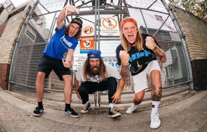 Dune Rats Duniespalooza tour of Brisbane 2021