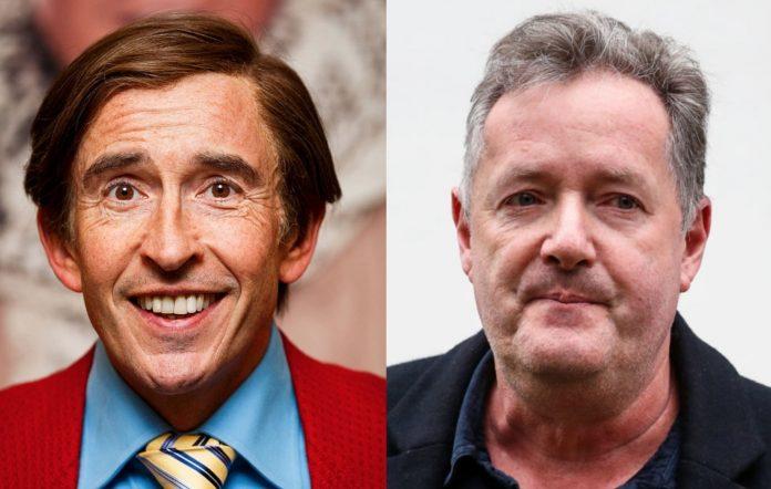 Alan Partridge and Piers Morgan