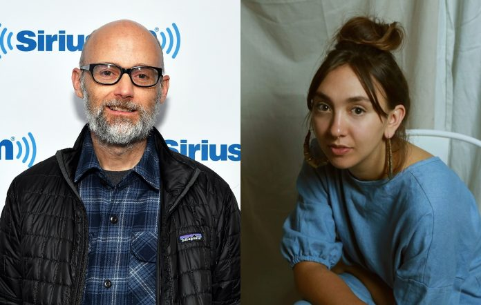 Alice Skye will feature on Moby's forthcoming album 'Reprise'