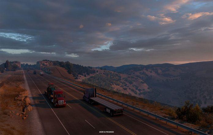 American Truck Simulator Texas DLC. Image Credit: SCS Software