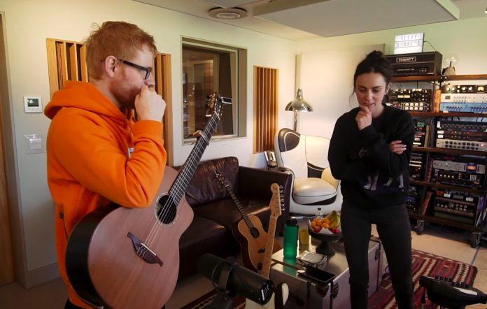 Amy Shark and Ed Sheeran