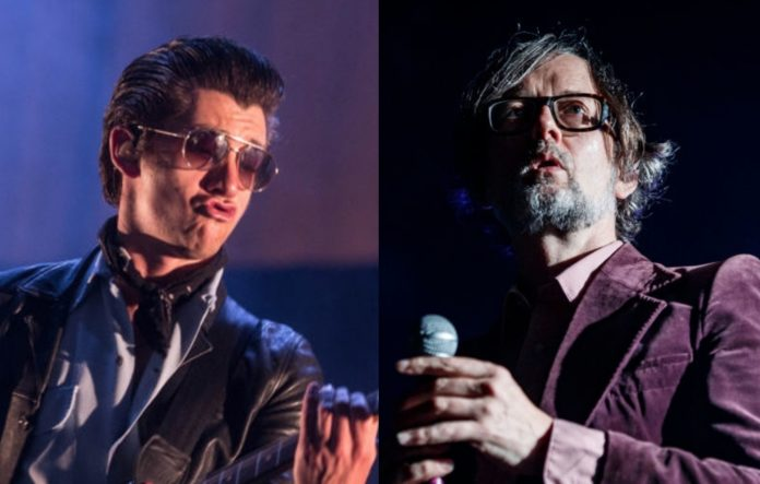 Arctic Monkeys and Jarvis Cocker