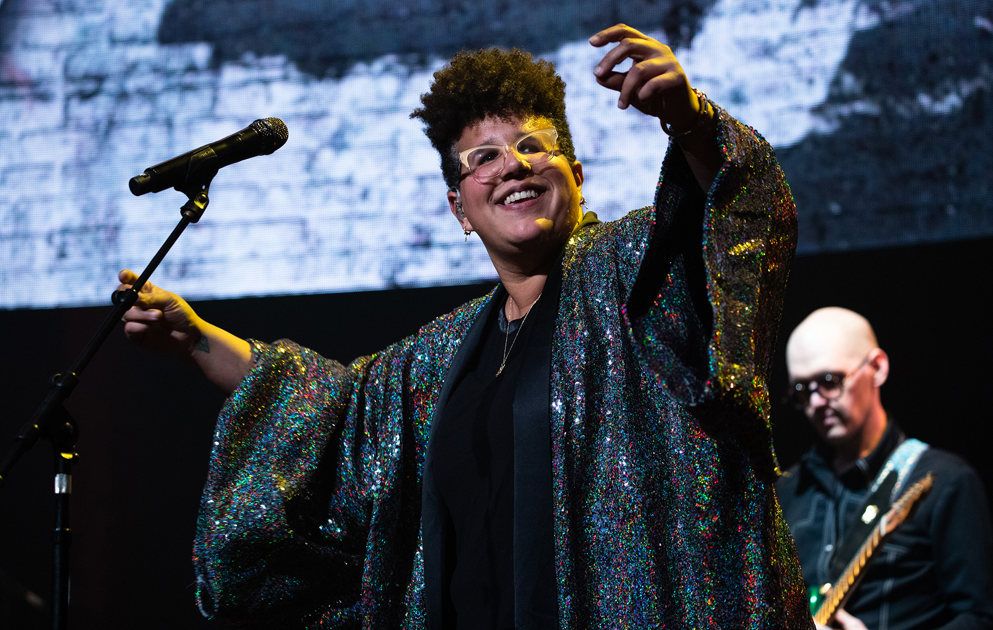 Brittany Howard shares cover of '(Your Love Keeps Lifting Me) Higher & Higher'