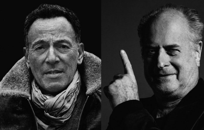 Bruce Springsteen and Michael Gudinski