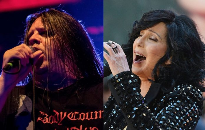 Cannibal Corpse's Corpsegrinder and Cher