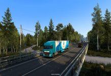 Euro Truck Simulator 2 Heart of Russia DLC. Image Credit: SCS Software