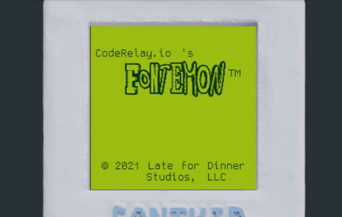 Fontemon Title Screen