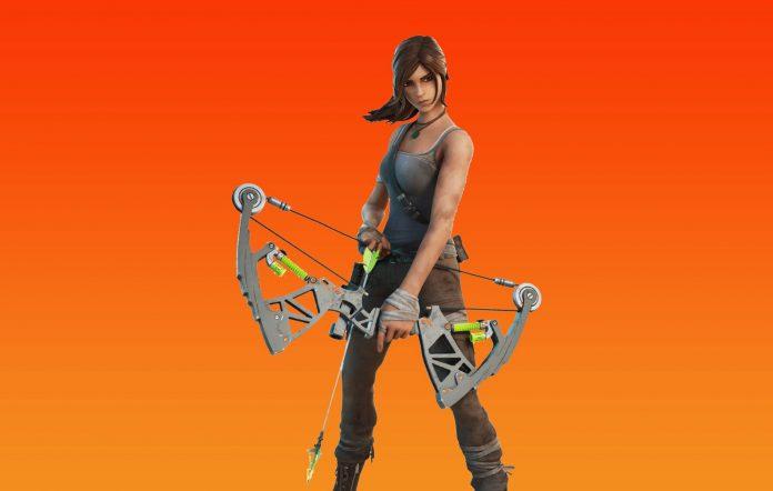 Lara Croft skin for Fortnite
