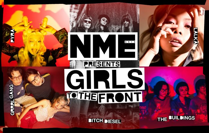 NME Girls To The Front Asia Australia International Womens Day 2021 Bitch Diesel LALKA Pyra Buildings Grrrl Gang