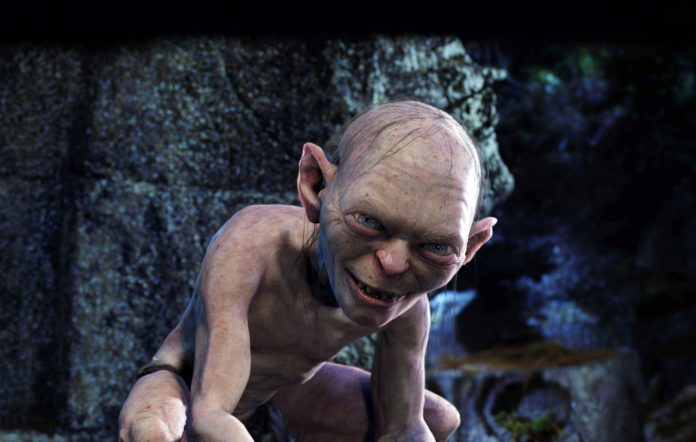 Gollum in 'The Lord Of The Rings'