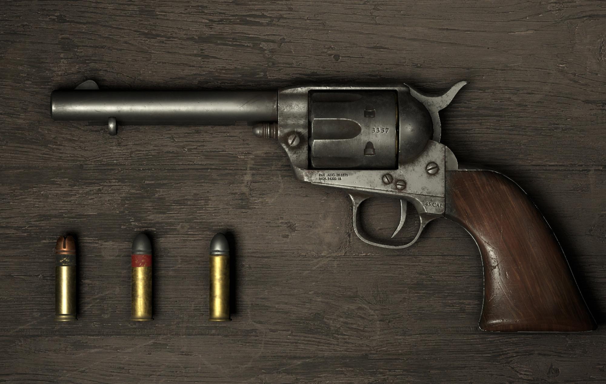 Hunt: Showdown Revolver & Ammo