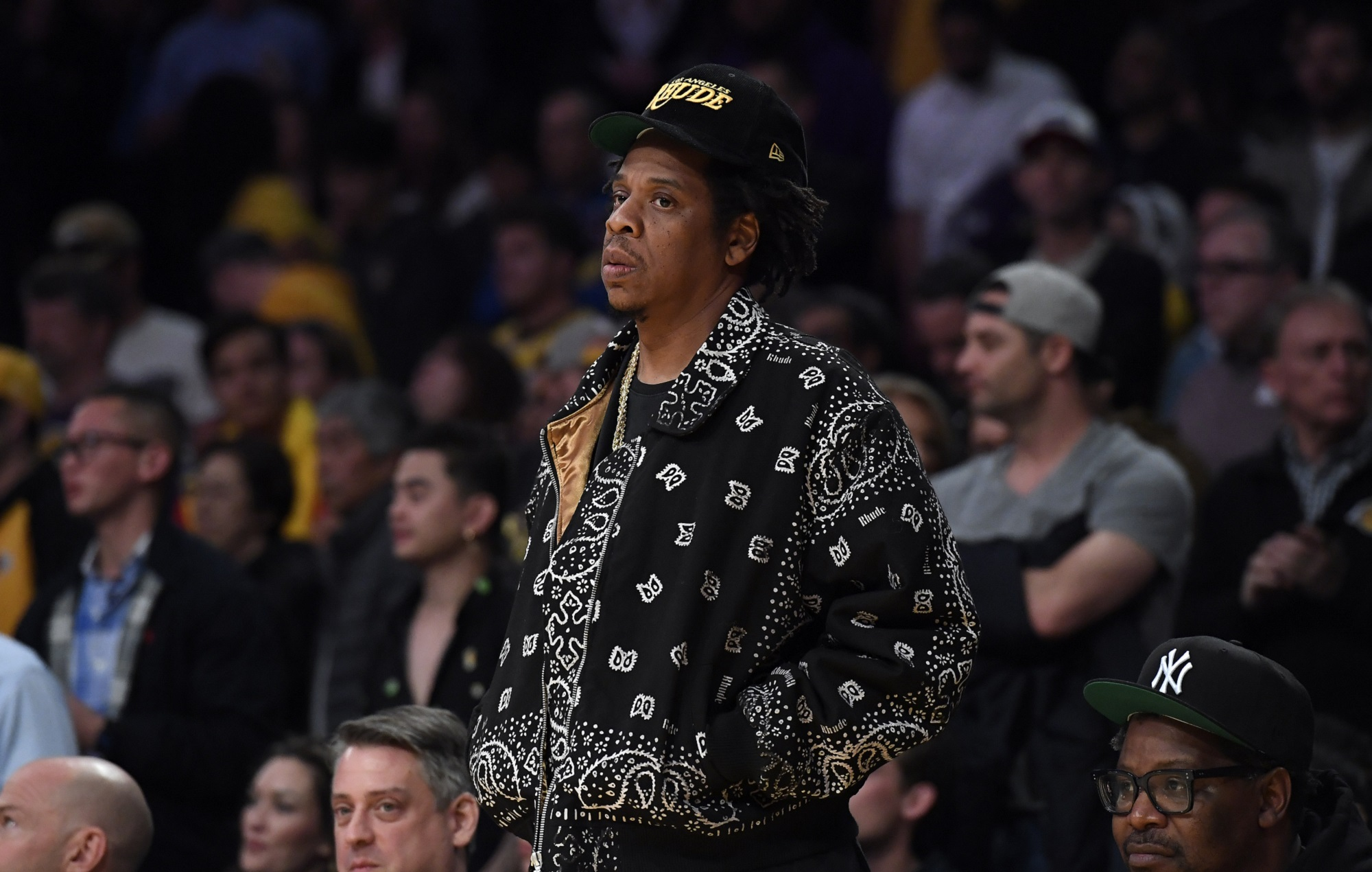 Jay-Z's net worth has jumped by 40 per cent following Tidal and champagne brand sales