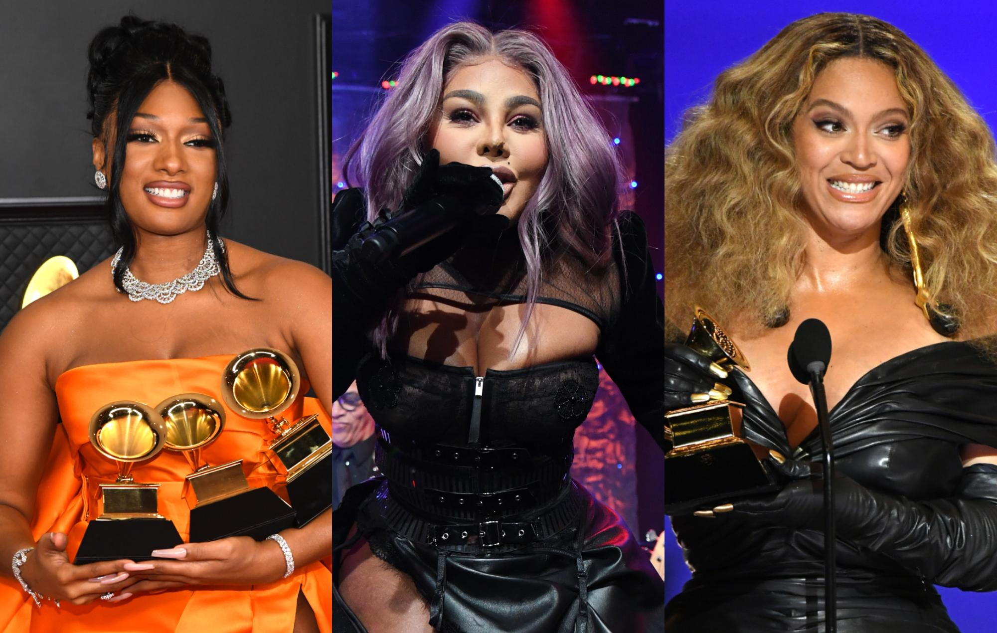 Lil' Kim congratulates Beyonc and Megan Thee Stallion on historic Grammy wins