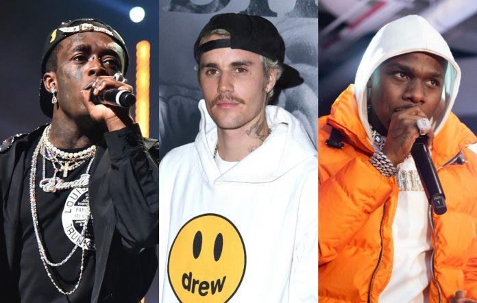 Lil Uzi Vert, Justin Bieber, DaBaby
