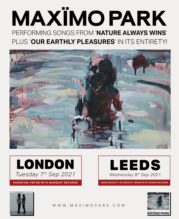 Maxïmo Park to perform 'Our Earthly Pleasures' in full at special UK shows