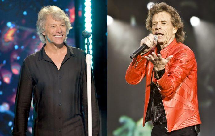 Mick Jagger Bon Jovi
