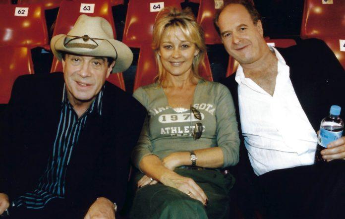 Molly Meldrum, Sue Gudinski and Michael Gudinski.