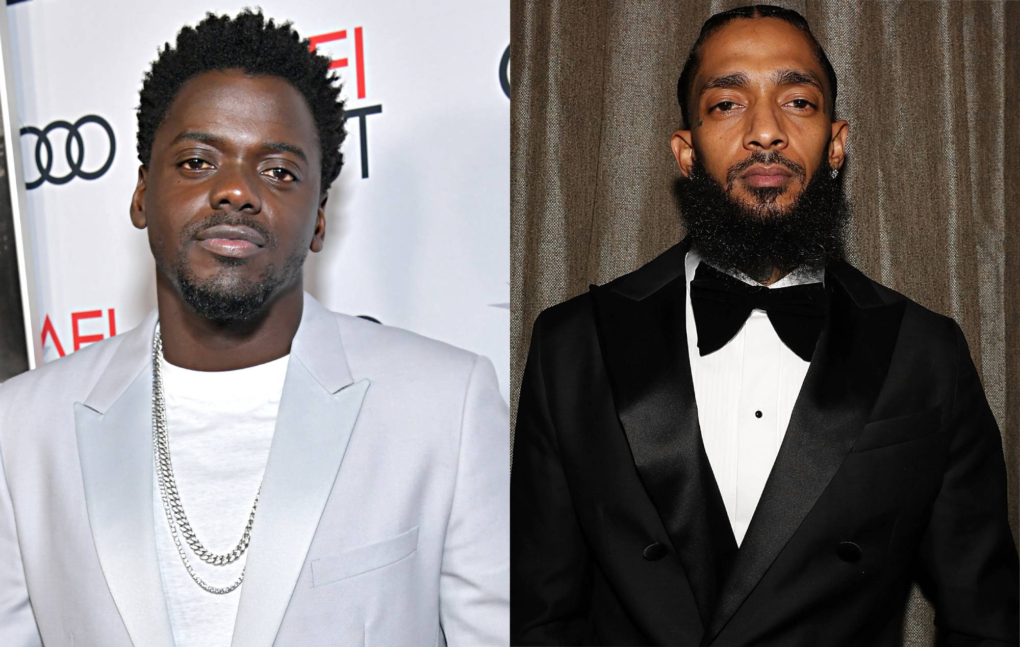 Daniel Kaluuya quoted Nipsey Hussle in his Golden Globes acceptance speech