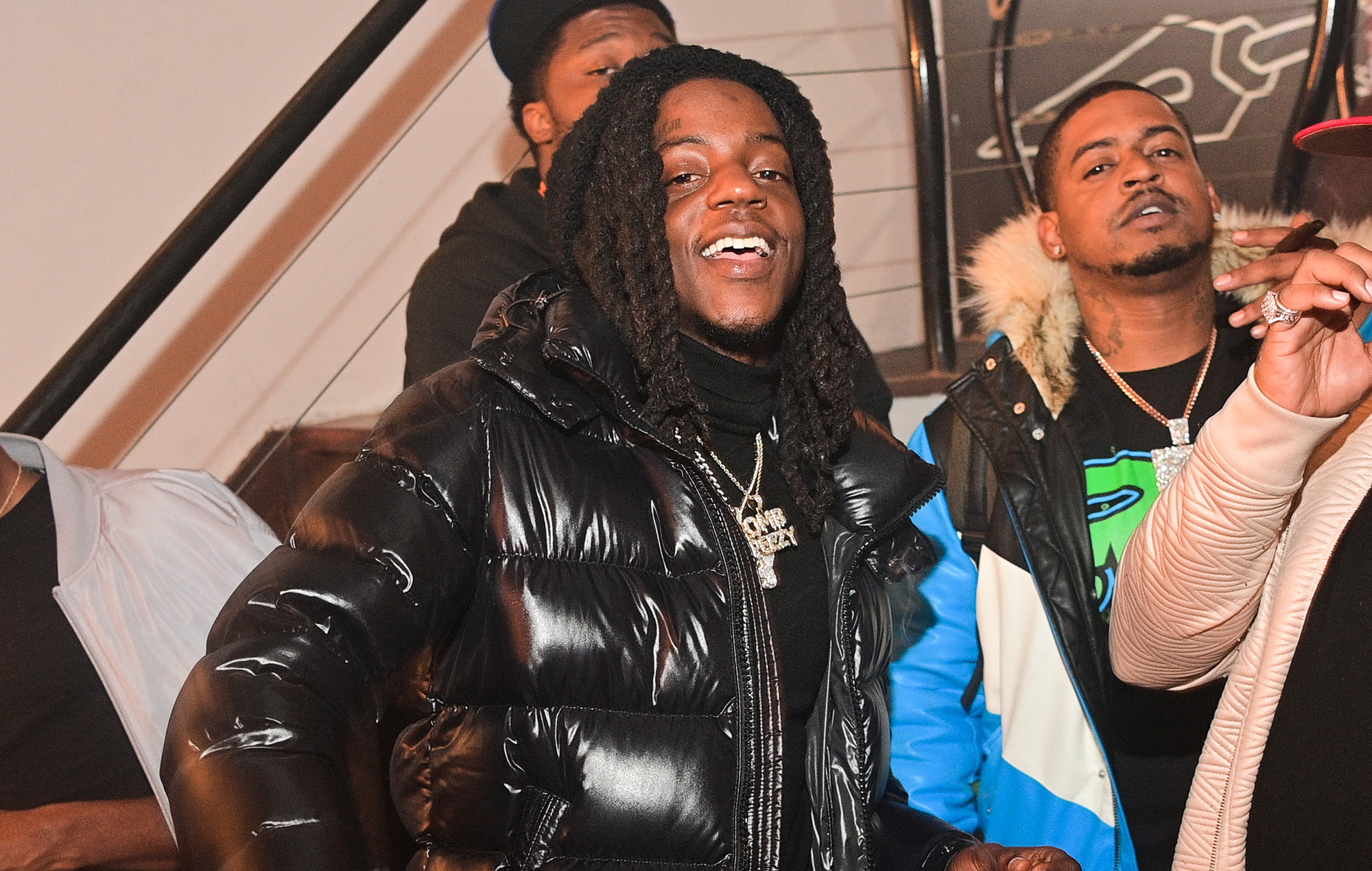 Rapper OMB Peezy arrested over shooting at Roddy Ricch's music video set