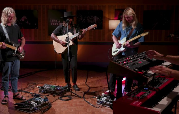 Ocean Alley perform on triple j's Like a Version