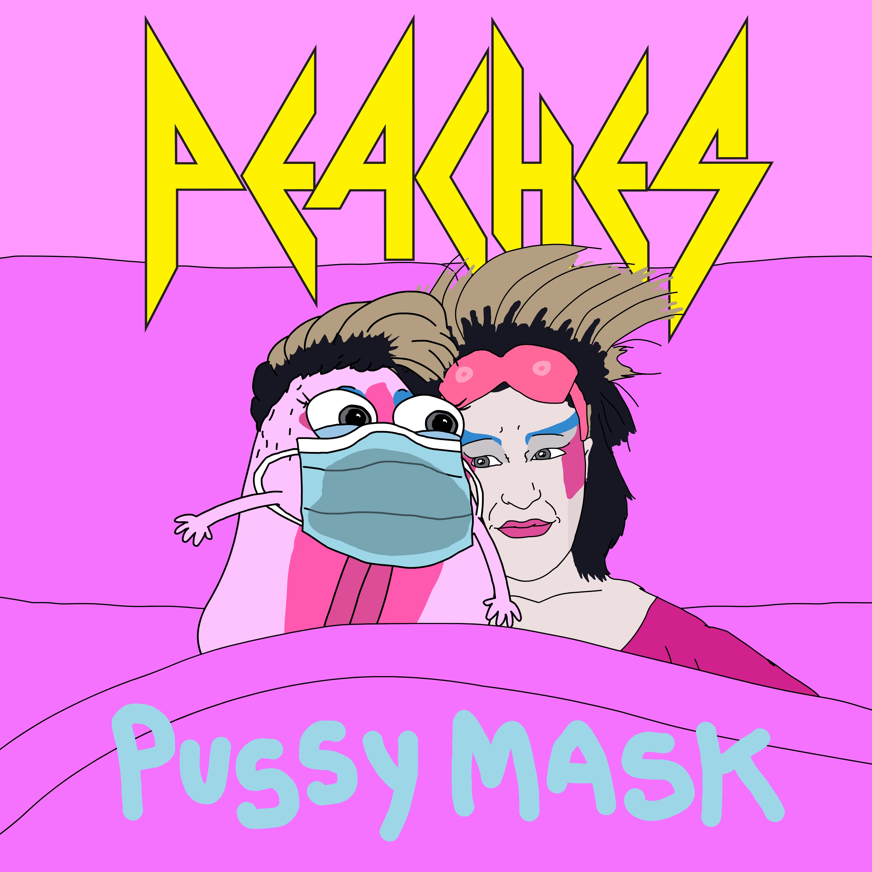 Peaches Pussy Mask
