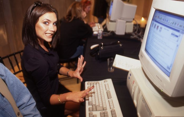 Posh gets to grips with AOL (Photo by David Corio/Redferns)