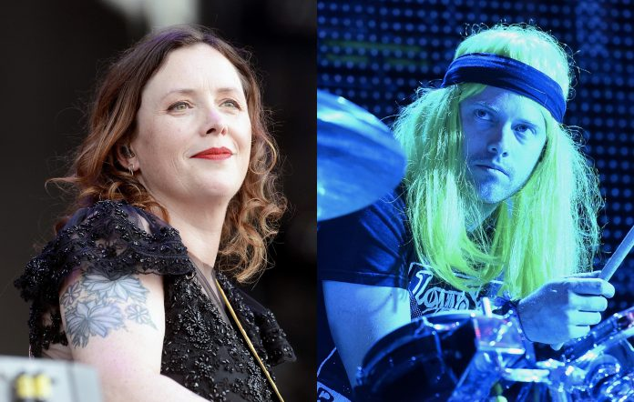 Rachel Goswell of Slowdive and Flaming Lips drummer Matt Duckworth