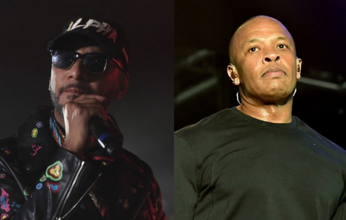 Swizz Beatz and Dr. Dre