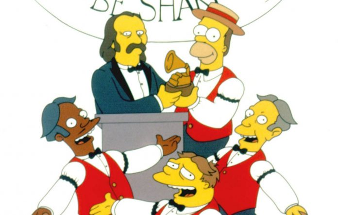 'The Simpsons' Homer's Barbershop Quartet