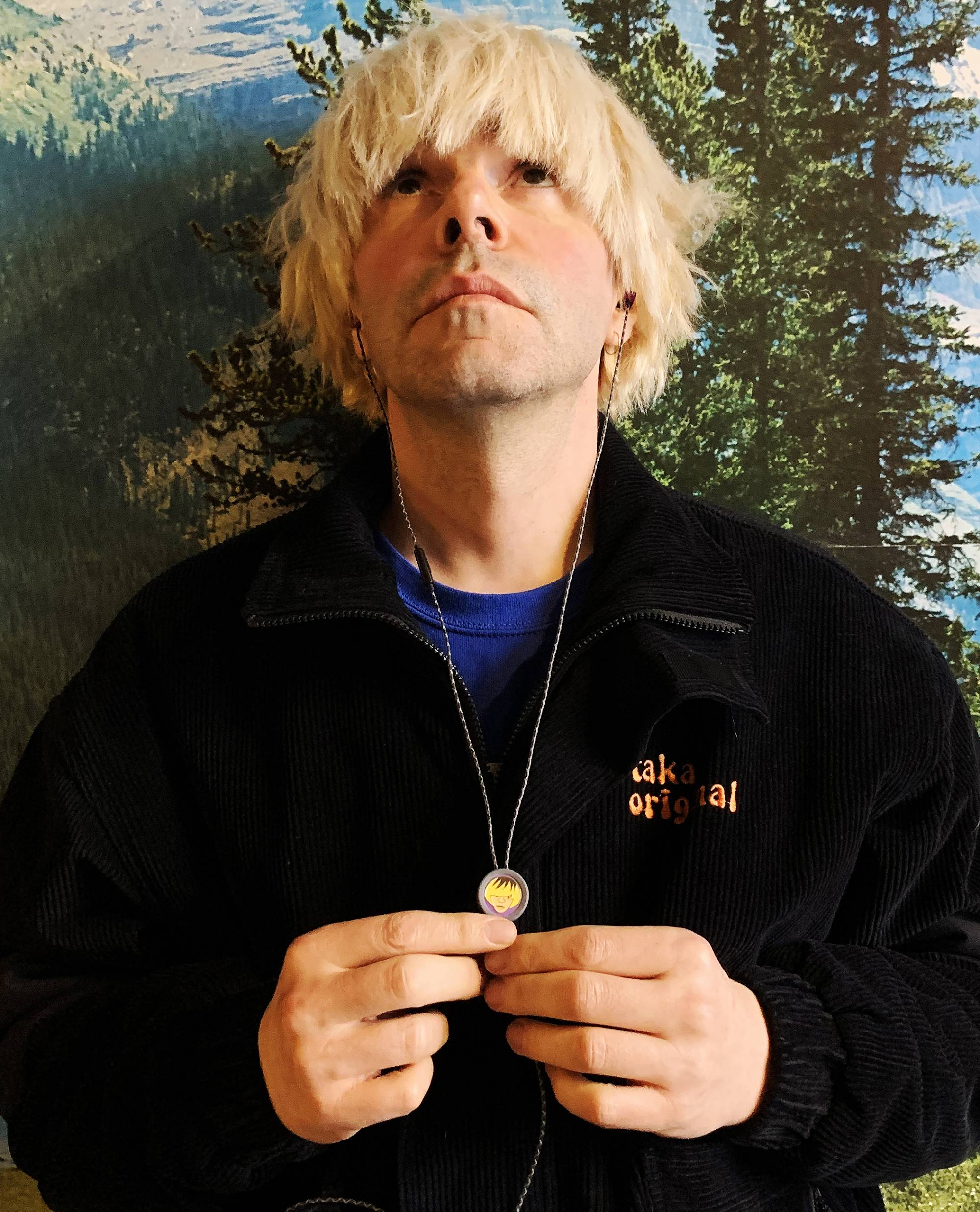 Tim Burgess launches 'Listening Party' earphones to support UK music venues. Credit: Press/Flare