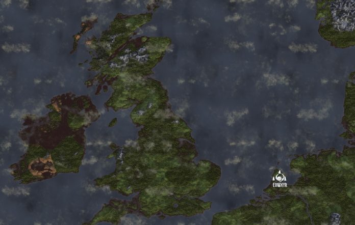 Valheim Europe Map Mod
