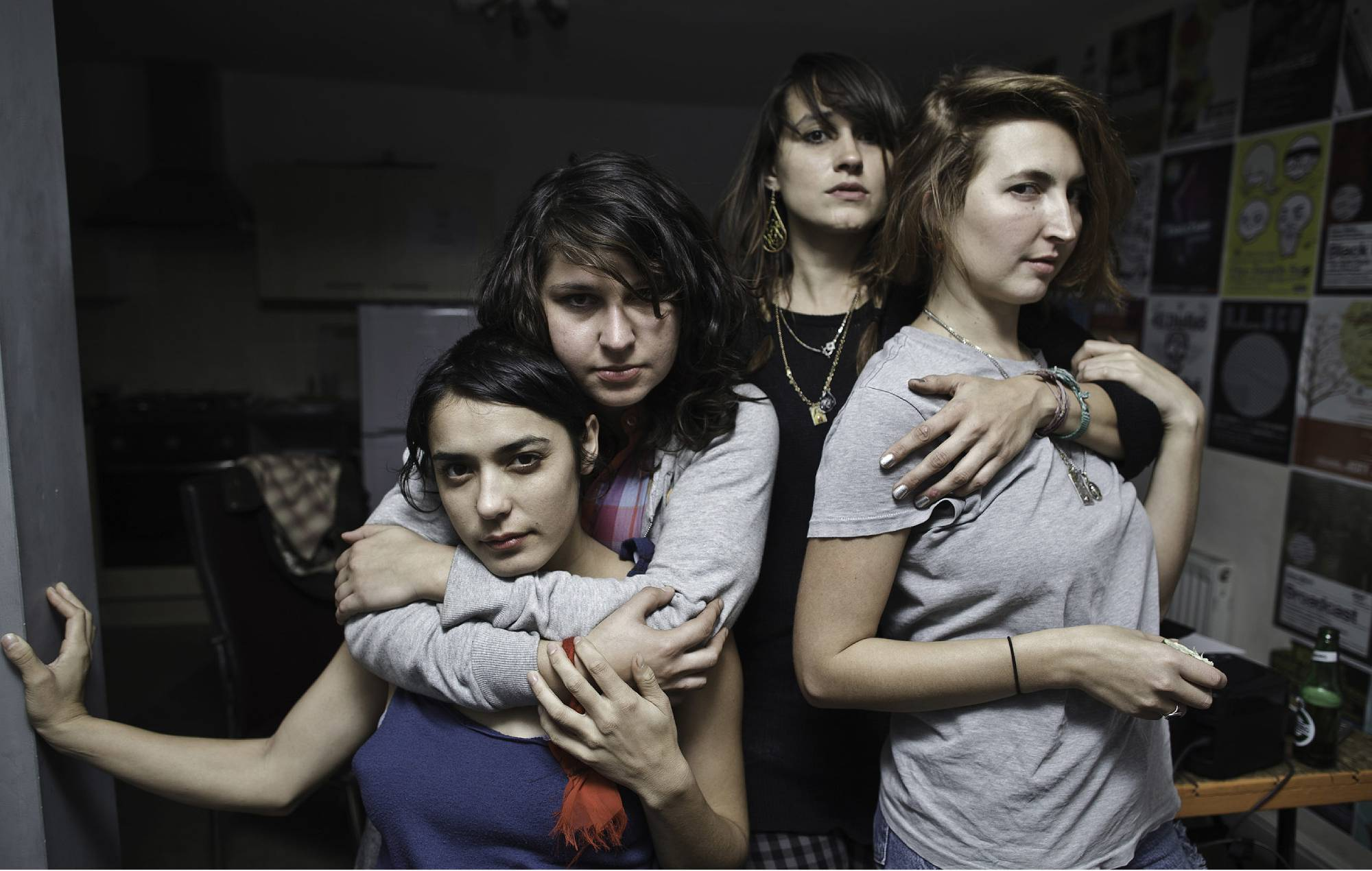 Warpaint. Credit: Danny North for NME