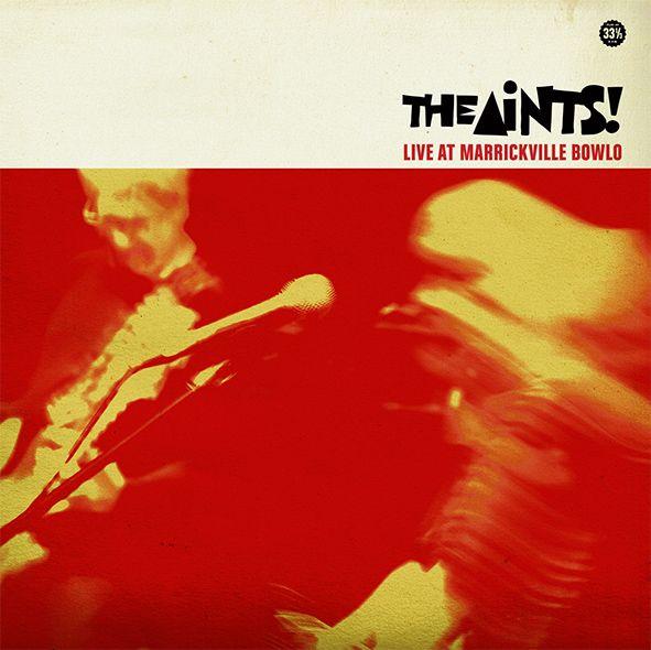The Aints' 'Live At The Marrickville Bowlo' album artwork