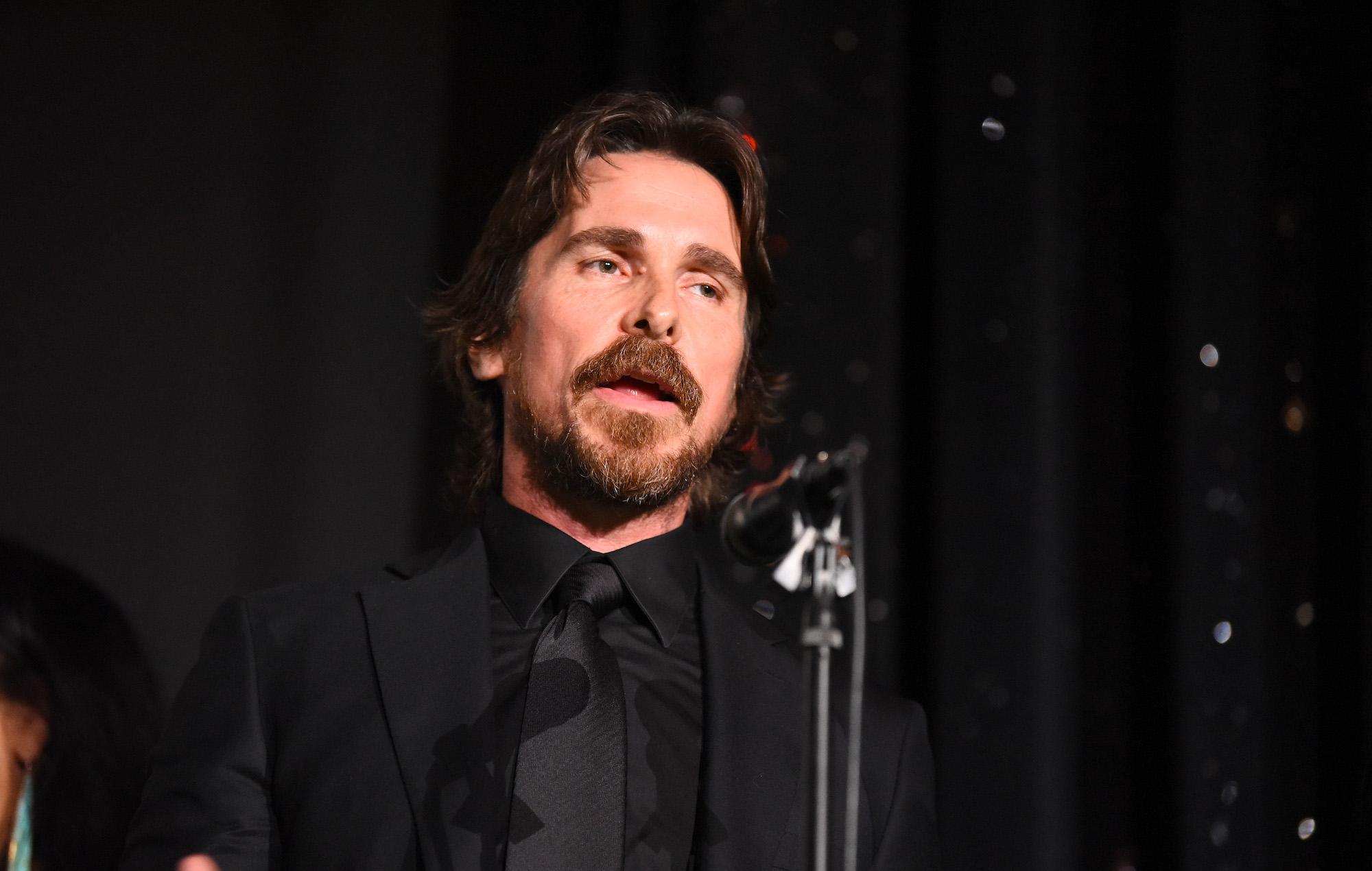 Netflix wins deal for Christian Bale horror thriller 'The Pale Blue Eye'